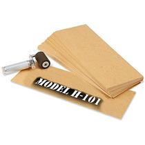Caja Con 650 Plantillas De Carton Aceitado Para Estarcido