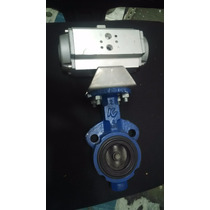 Valvula Mariposa 3 Con Actuador Neumatico
