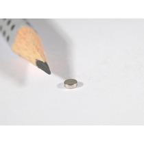 Imanes De Neodimio 3mmx1mm Grado N35 Magnetos Permanentes