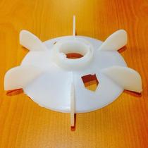 Ventilador Aspa Plastico 14 Cm Para Motor Y Bomba De Agua