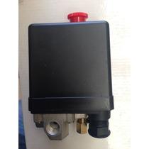 Automatico Para Compresor Reforzado Con Boton 4 Vias Standar