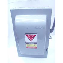 Interruptor De Seguridad Royer 3polos 60a