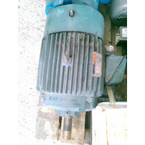 Motor Electrico Reliance Hp20, 1750 Rpm, Trifasico
