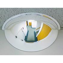 Espejo De Seguridad De Medio Domo De Acrilico De 18 Pulg