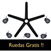 Sillas De Lux Estrella D 22 Ruedas Gratis Mobiliario Oficina