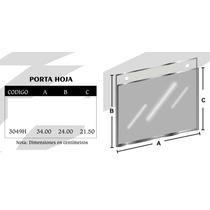 Porta Hoja Tam Oficio Horizontal De Acrilico Mod3049