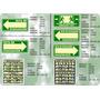 Kit Basico Señalamientos De Proteccion Civil