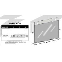 Porta Hoja Tam. Oficio Vertical De Acrilico Mod3048