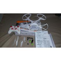 Drone 35 Cms Toma Fotos Y Video Memoria 4gb 25 Mts Alcance!!