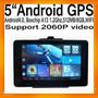 Gps Tablet Android 5 8gb Wi-fi, Bt, Av ¡sin Pago De Rentas!