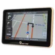 Gps Swiss Gadget 439rs 4.3 Con 5 Mapas 3d De Todo México Fn4