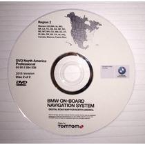 2015 Bmw Y Mini Dvd De Navegacion Mapas Mexico, Usa&canada