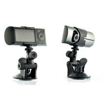 Camara Dvr Xb58 Grabacion Video Doble Y Ruta Gps Para Coche