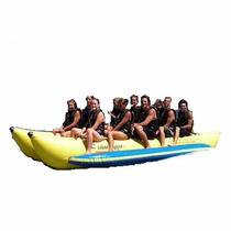 Banana Inflable Island Hopper Comercial Playa 10 Personas