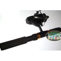 Caña Telescopica Para Pescar 1.8 Mts Fibra De Vidrio!! Lbf