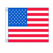 Bandera Para Yate O Lancha Estados Unidos 16x24 Pulgadas