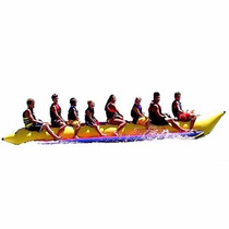 Banana Inflable Island Hopper Comercial Playa 8 Personas
