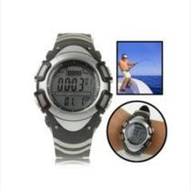 Barômetro Digital E Relógio Com Termômetro