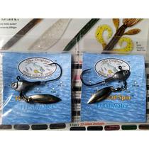Señuelo Fish Head Spin Pesca Lobina