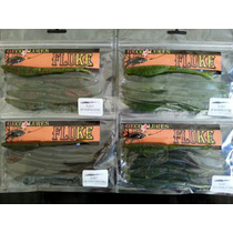 Señuelo Fluke 5 Para Pesca De Lobina 10pak