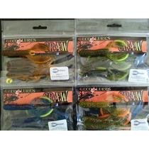 Señuelo Craw De 4 Para Pesca De Lobina 5 Pak