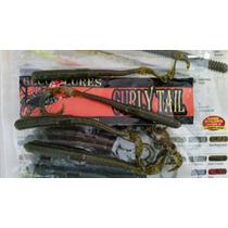 Lombriz Pesca De Lobina 5 Curly Tail 20 Pak