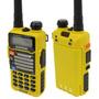 Radio Dual Dos Vías Baofeng Uv-5r V2 Frecuencia Amarillo