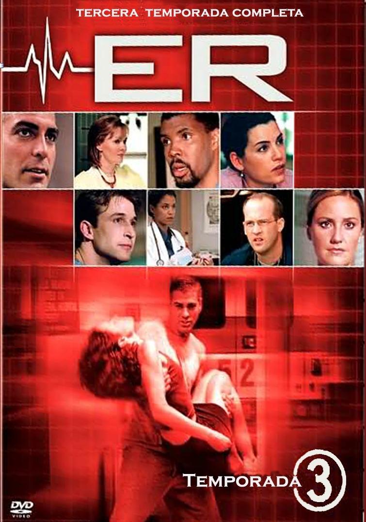 Sala De Urgencias Serie Tv ~ Er, Sala De Urgencias Temporada 3, Tres Serie De Tv En Dvd  $ 29900
