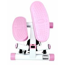 Escaladora Sunny Health Fitness Ajustable - Rosa Stepper