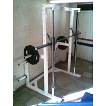 Smith Machine Con Balero Lineal Marca: Guerra Fitness E.