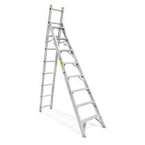 1 Piezas Escalera Aluminio 2 Posiciones 8/17 Santul