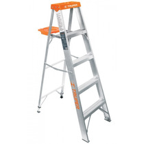 Escalera De Tijera, Aluminio, Tipo Ll, 4 Escalones
