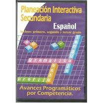 Planeación Interactiva Secundaria Español