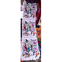 Caminos/pie De Cama O Mesa Tipicos/artesanales/ De Chiapas
