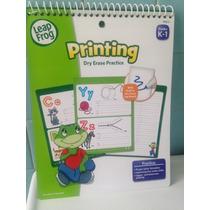 Leap Frog Libro De Actividades Borrable En Ingles Abecedario