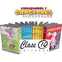 Video Rondas Y Canciones Infantiles 11 Cds Audio Y 2 Dvds