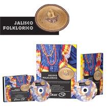 Jalisco Folklorico 1 Vol + 1 Cd + Dvd Clase 10 Envio Gratis