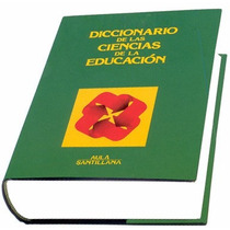 Diccionario Ciencias De La Educación 1 Vol + 1 Cd