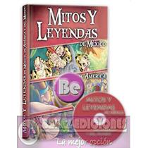 Mitos Y Leyendas De Mexico, America Y El Mundo 1vol+cd Clasa
