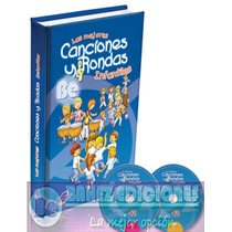Las Mejores Canciones Y Rondas Infantiles 1 Vol + 2cd Euro