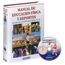 Manual De Educación Física Y Deportes 1vol + Cd-rom Oceano