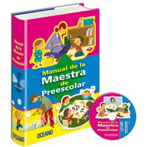 Manual De La Maestra De Preescolar 1vol + Cd-rom Oceano