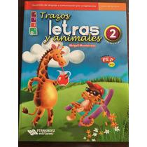 Trazos Letras Y Animales Libro De Lectura Preescolar 2