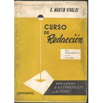 Curso De Redacción G. Martin Vivaldi