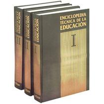 Enciclopedia Tecnica De La Educacion 1 Vol Santillana
