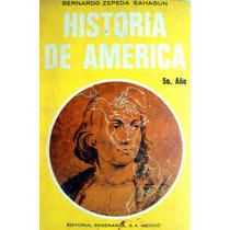 Libro De Primaria 5o. Año Historia De América Ed. 1966