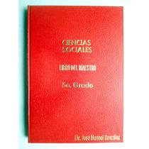 Libro De Primaria Para El Maestro C. Sociales 5o. Grado