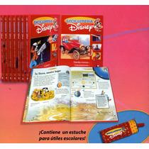 Enciclopedia Disney 8 Vols + Lapicera Planeta