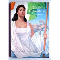 Libro De Primaria 5o. Año Geografía Ed. 1965
