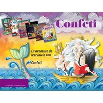 Libro Confeti Lecturas1°-6°primaria Mayoreo 12 Pzs
